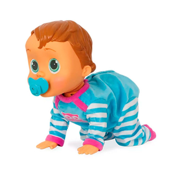 Boneco Baby Wow Bebê Menino Comando De Voz Brinquedo Br582