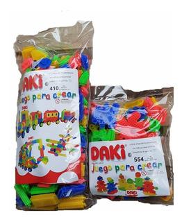 Combo Daki 428 Piezas (bolsa 410 + 554) Envio Gratis