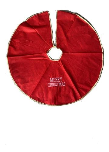 Tapete Pie De Arbol Arbolito Navidad Navideño Redondo Lindo