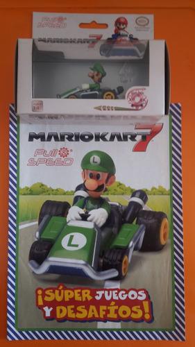 Imagen 1 de 1 de Mario Kart Nintendo Luigi Carro