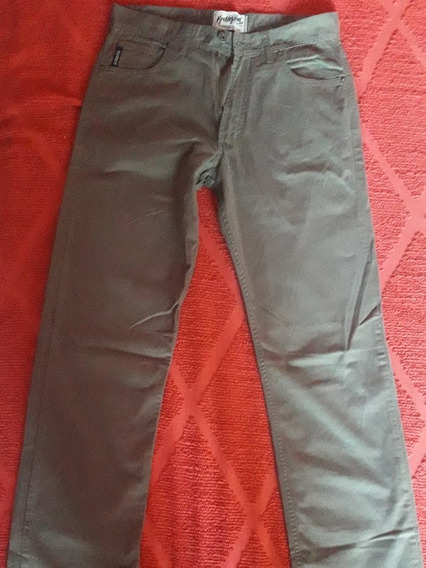 Pantalon De Gabardina Marca Kevingston Hombre