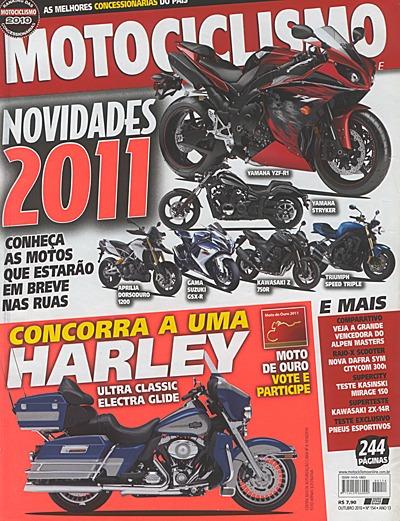 Motociclismo.154 Out10- Dafra300 Mirage150 Kawa Ténéré Cb130