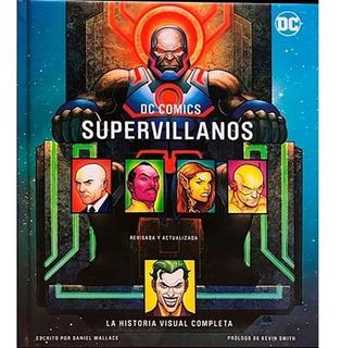 Libro Supervillanos Dc Comics Panini Historia Visual Batman