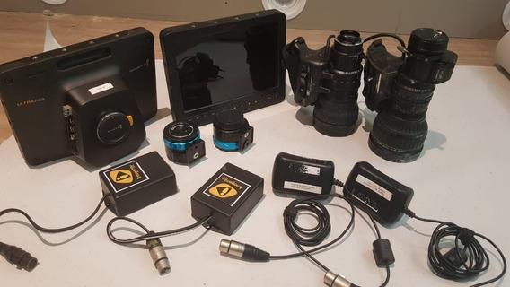 Filmadora Blackmagic Studio 4k - Dois Kit Completos
