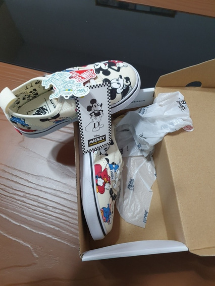 Tenis Vans Authentic Disney Mickey Mouse 90 Años