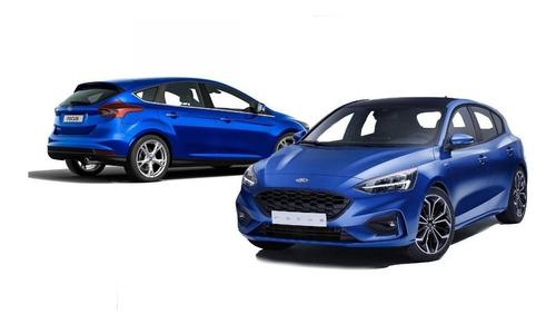 Baguetas Ford Focus Exe 4/5 Puerta S 2009 Negras Rapinese
