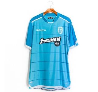 Camisas Masculinas De Futebol Paok 2017/18 Third Macron