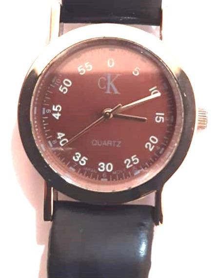 Relógio Ck Unissex Quartz Mande In Japan