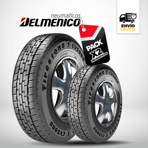 Neumático Firestone 185x14 Cv 5000 Por Dos Unidades