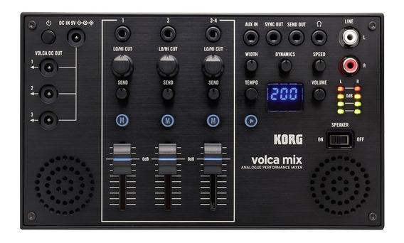 Modulo Korg Volca Mix 4 Canais Uso De Até 3 Volcas + Fonte