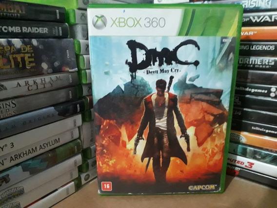 Jogo Dmc Devil May Cry Xbox 360 Original Mídia Física