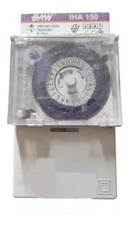 Timer Temporizador Analogico Para Riel Din Iha150 Baw