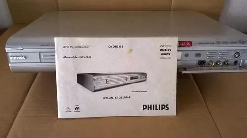 Dvd Philips Dvdr3355 Gravador Dvd Com Manual Original