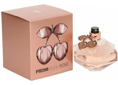Imagen 1 de 1 de Pacha Ibiza Rose Perfume Importado Mujer Edt X 80 Ml