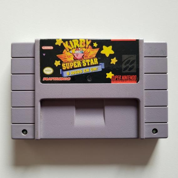Kirby Super Star 8 Jogos Em 1 - Original Snes Super Nintendo