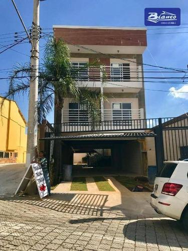 Imagem 1 de 13 de Cobertura Com 3 Dormitórios À Venda, 200 M² Por R$ 490.000,00 - Vila Milton - Guarulhos/sp - Co0088