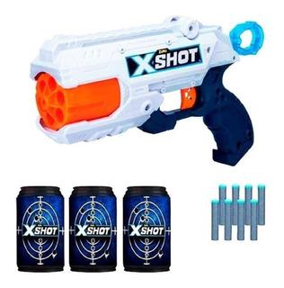 Pistola Dardos X-shot Reflex Tambor Gira New 36116 Bigshop