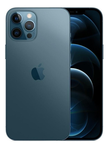 Celular Smartphone Apple iPhone 12 Pro Max 128gb Azul - Dual Chip