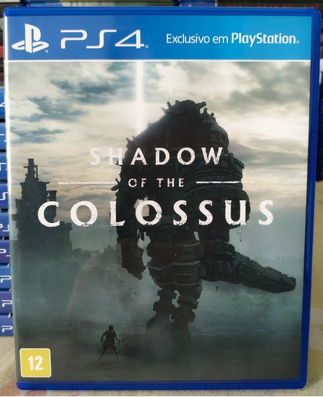 Shadow Of The Colossus Ps4 Jogo Mídia Física Português