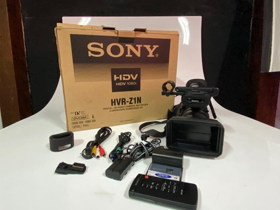 Filmadora Sony Hdv 1080i Hvr-z1n