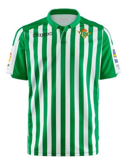 Camisa Nova Do Real Betis Oficial Masculino - Mega Desconto