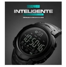 Relogio Skmei Bluetooth 1301 Inteligente Smartwatch Pedomet
