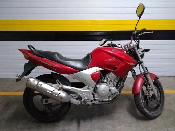 Moto Baixada Yamaha Fazer 250 2008 Vermelha