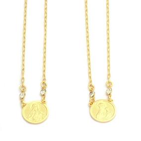 Escapulário Cartier Elos 15 Microns Ouro 18k 77cm