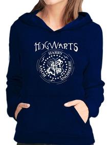 Blusa De Frio Moletom Hogwarts Harry Potter Feminina Casaco