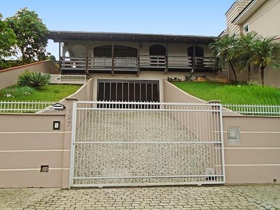 Casa No Saguaçú Com 4 Quartos Para Locação, 296 M² - 6002