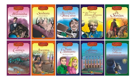 10 Livros Da Literatura Brasileira Versão Infanto Juvenil