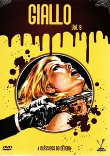 Dvd Giallo Volume 8 Com Cards - Versatil - Bonellihq L19