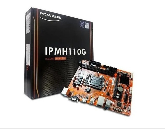 Placa Mãe Pcware Ipm-h110g Ddr3 Hdmi/vga/usb3.0