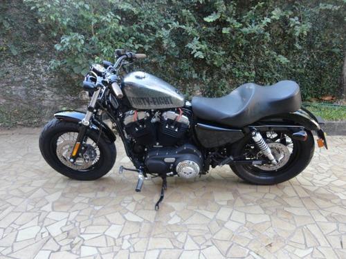 Harley Davidson 2014 Forty-eight 1200 C Prateada Linda!!!