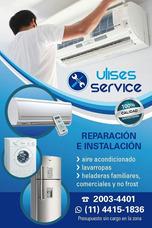 Service Instalación Y Reparación De A/a Heladeras