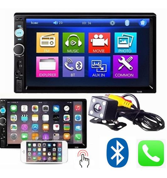 Reproductor Bluetooth Estéreo Del Coche + Cámara