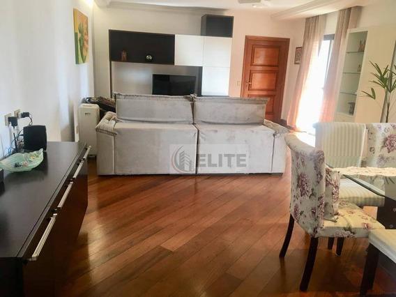 Maravilhoso Apartamento Com 186m2au E 3 Vagas De Garagem Proximo A Padaria Portugal E Shopping Abc - Ap8231