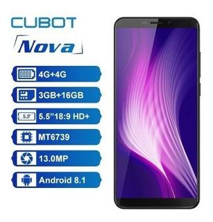 Cubot Nova Android 8.1 4g + Brindes