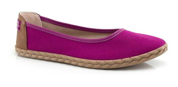 Sapatilha Beira Rio Em Tecido - Vanda Calçados