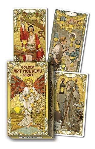 Golden Art Nouveau Tarot, Tarot Dorado Art Nouveau