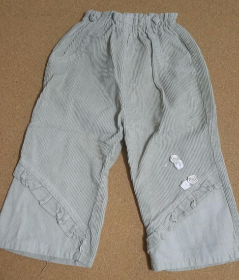Pantalon Corderoy Nena Usado