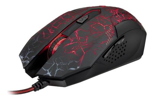 Mouse Gamer Xtech Xtm-510 2400 Dpi Usb Iluminado Mallado