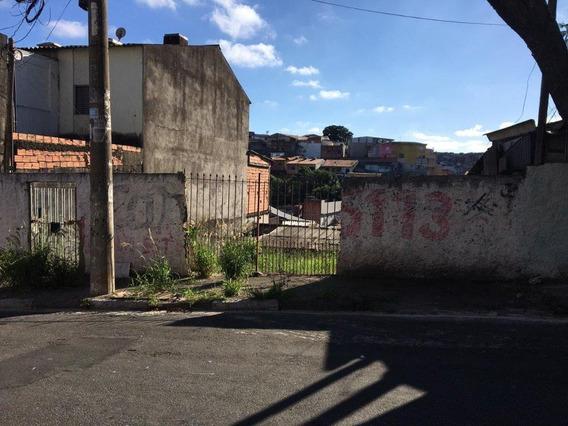 Terreno À Venda, 250 M² Por R$ 320.000 - Parque Pinheiros - Taboão Da Serra/sp - Te0028