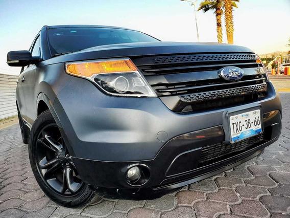 Ford Explorer 4.0 Xlt V6 3er Asiento Sync 4x2 Mt 2012