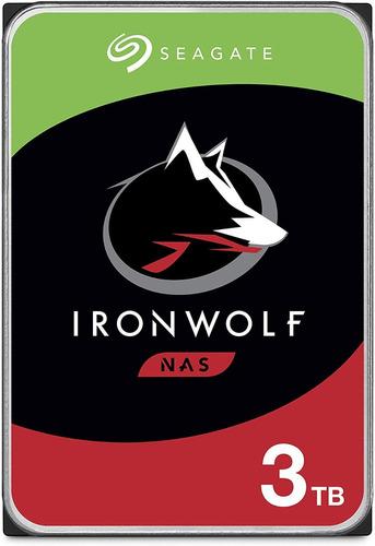 Seagate Ironwolf Nas 3tb Disco Duro Hdd Sata 6gb/s 3 .5 In