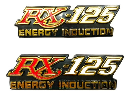 Imagen 1 de 2 de Emblemas Set Yamaha Rx 125