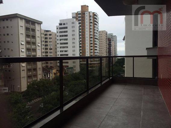 Apartamento Residencial Para Venda E Locação, Pompéia, Santos - Ap1830. - Ap1830
