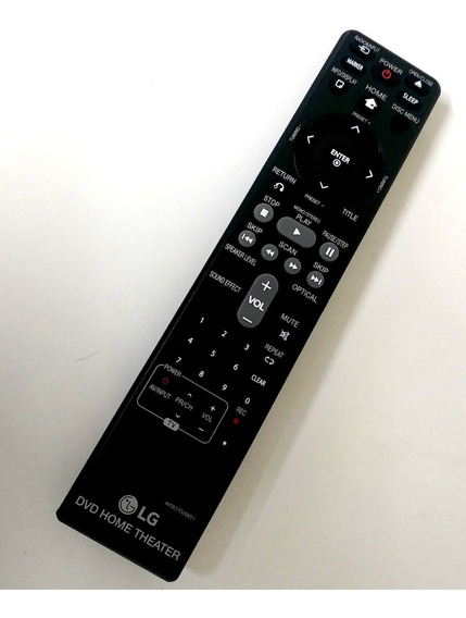 Controle Home Theater Ht Lg Original Ht906 Ht906scw Dh6230