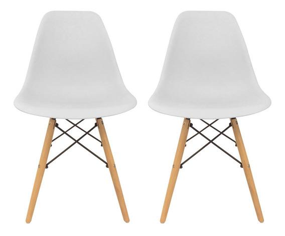 Silla Eames X 2 Dsw Diseño Moderno Sillas Oferta