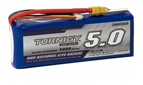 Bateria Lipo 5000mah 11.1v 3s 20c Turnigy Dron Robotica Xt60